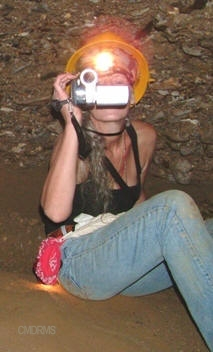Colette Dowell shooting vidoe in Bosnia Phony tunnel inscriptions