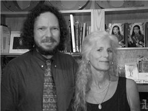 Robert Schoch and Colette Dowell at Malaprops 2005
